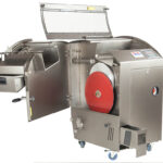 Commercial Bread Slicer Opened Covers