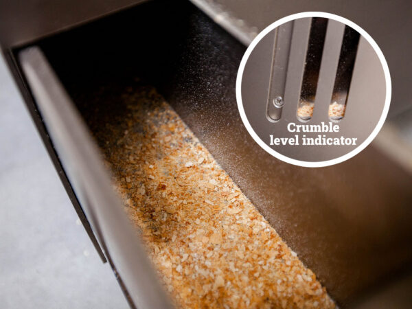 Crumble Drawer With Level Indicator