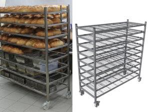 Wozki Do Piekarni Studzenie Chleba
