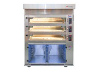 Piec cukierniczy modułowy Modulo 8 dla piekarni i cukierni