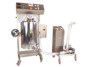 Maszyna do mieszania czekolady z pompa