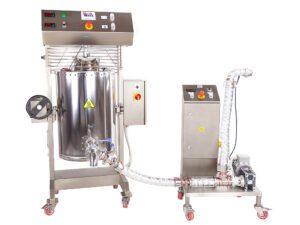Maszyna do podgrzewania i mieszania z pompa do czekolady